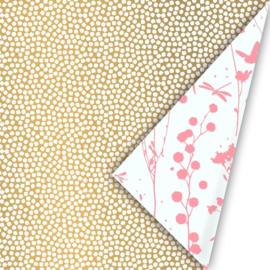 Cadeaupapier Mini Dots Gold