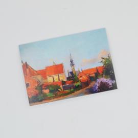 Kunstkaart Kwartierstraat Veere