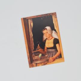 Kunstkaart Veers Meisje