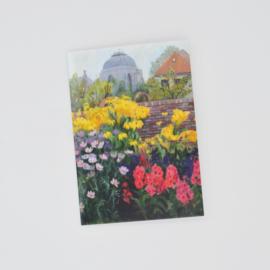 Kunstkaart Mijn Achtertuin