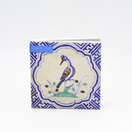 Kaartenset Dutch Tiles - Birds