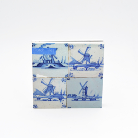 Kaartenset Dutch Tiles - Molens