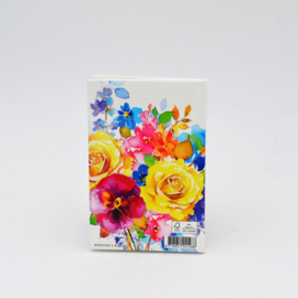 Kaartenset Flowers