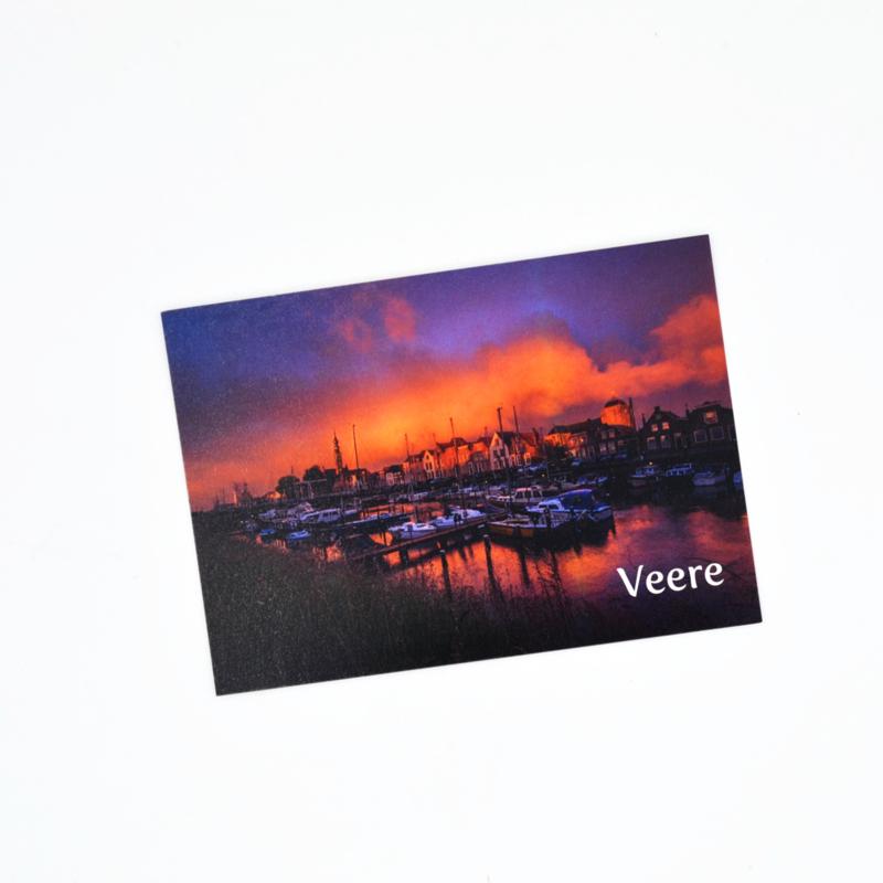 Ansichtkaart Veere - Haven