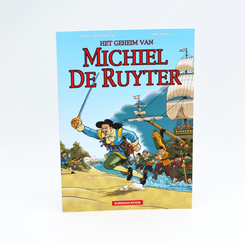 Strip Het geheim van Michiel de Ruyter