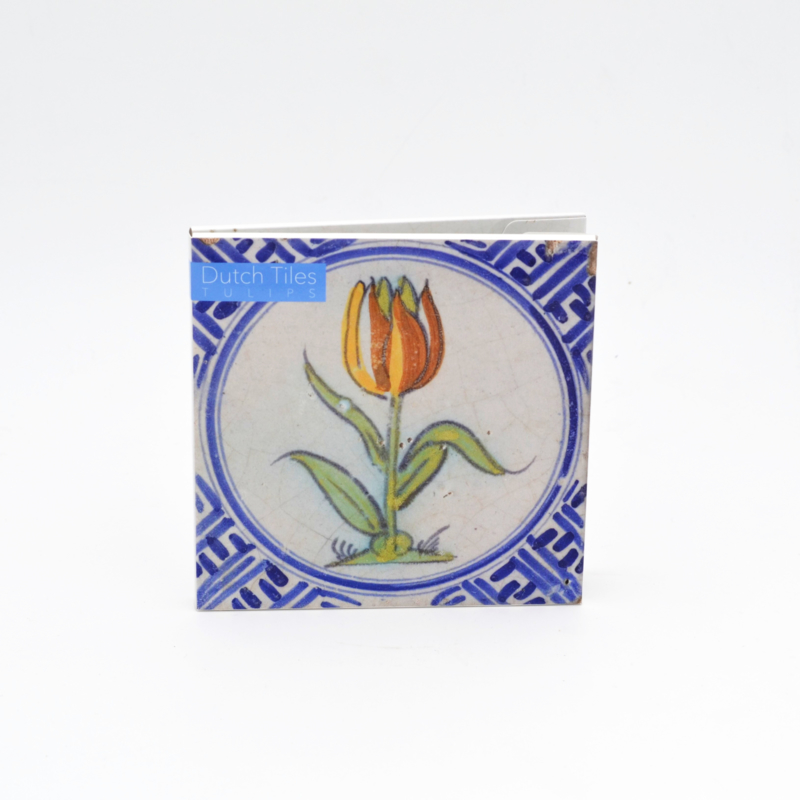 Kaartenset Dutch Tiles - Tulips