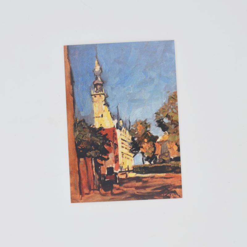 Kunstkaart Stadhuis Veere
