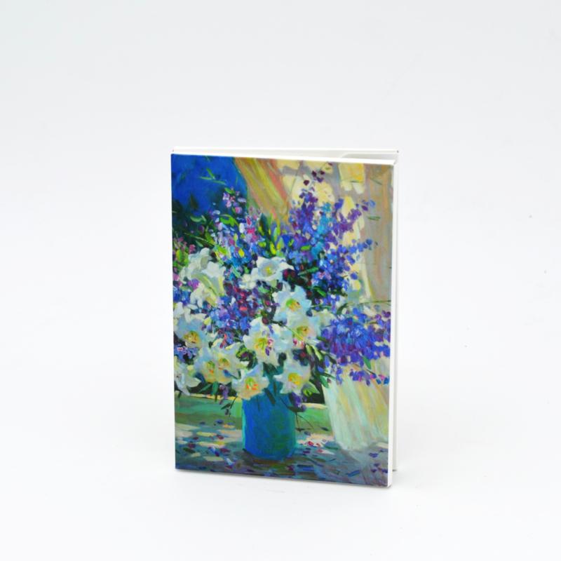 Kaartenset Bloemen in vaas - Juane Xue