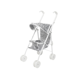 SPEELGOED BUGGY WHITE DOTS