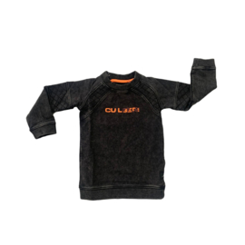 WASHED SWEATER BLACK
