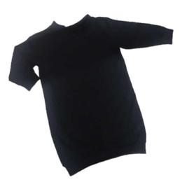 BASIC SWEATERDRESS BLACK