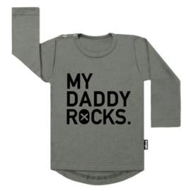 TEE MY DADDY ROCKS