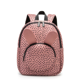 BACKPACK BUNNY WARMDOTS PINK