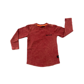 WASHED LONGSLEEVE RED