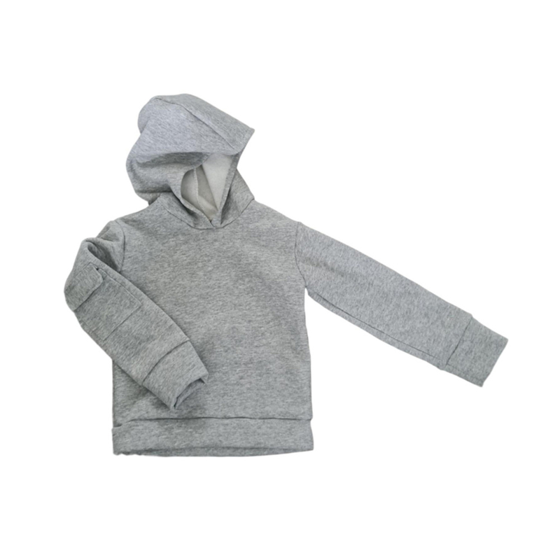 POCKET SWEATER GREY