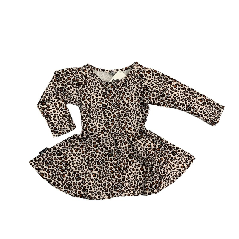 CHEETAH BROWN DRESS
