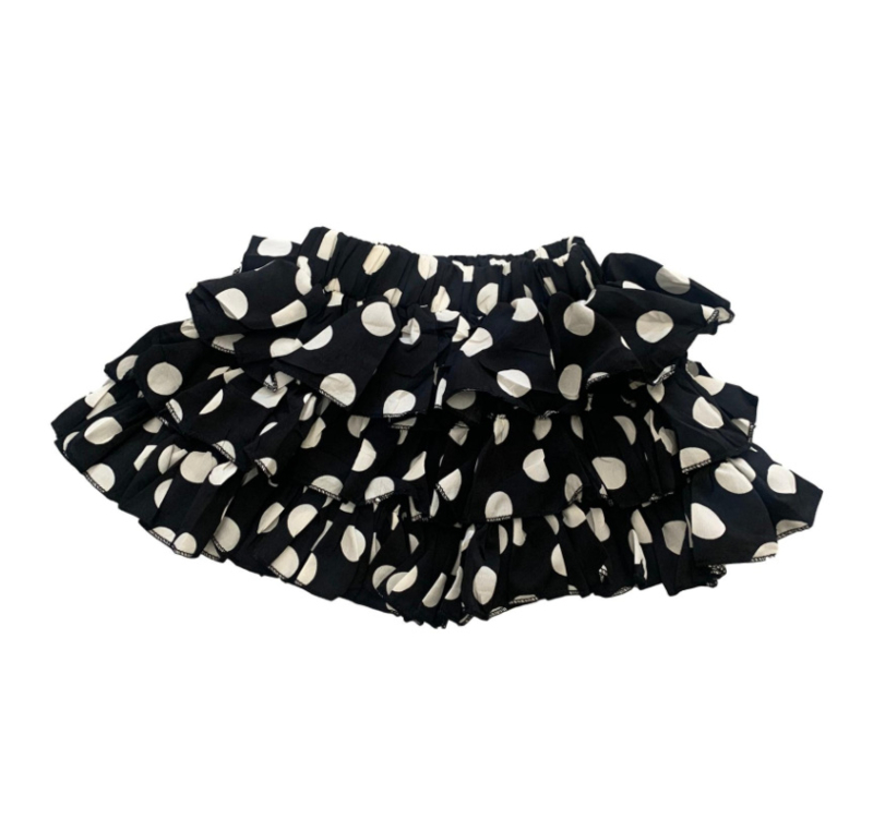 DOTS RUFFLE SKIRT