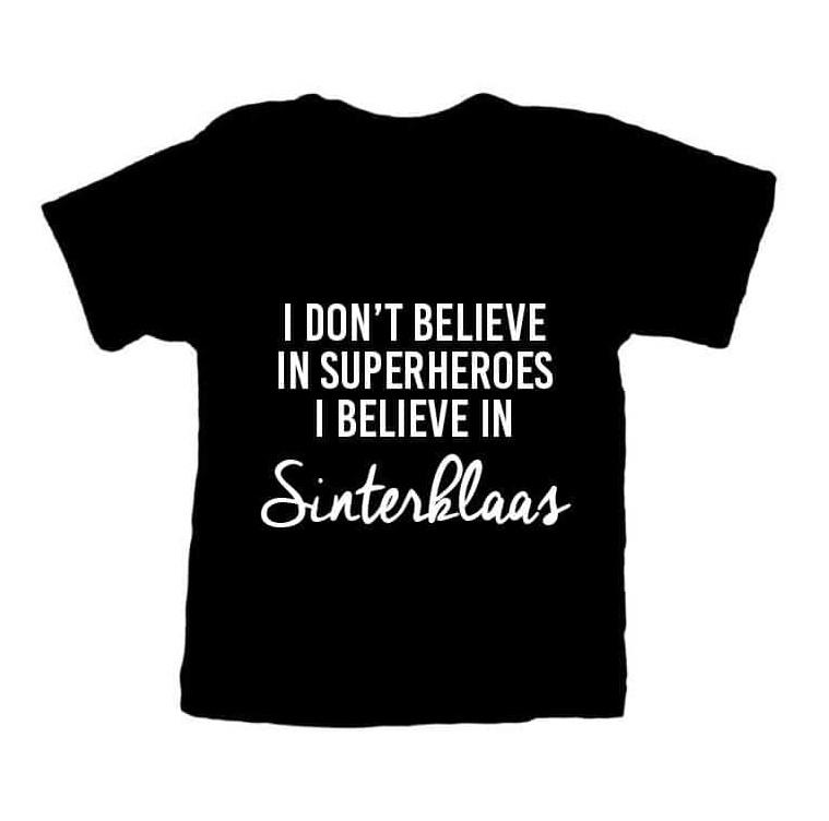 I BELIEVE IN SINTERKLAAS T-SHIRT