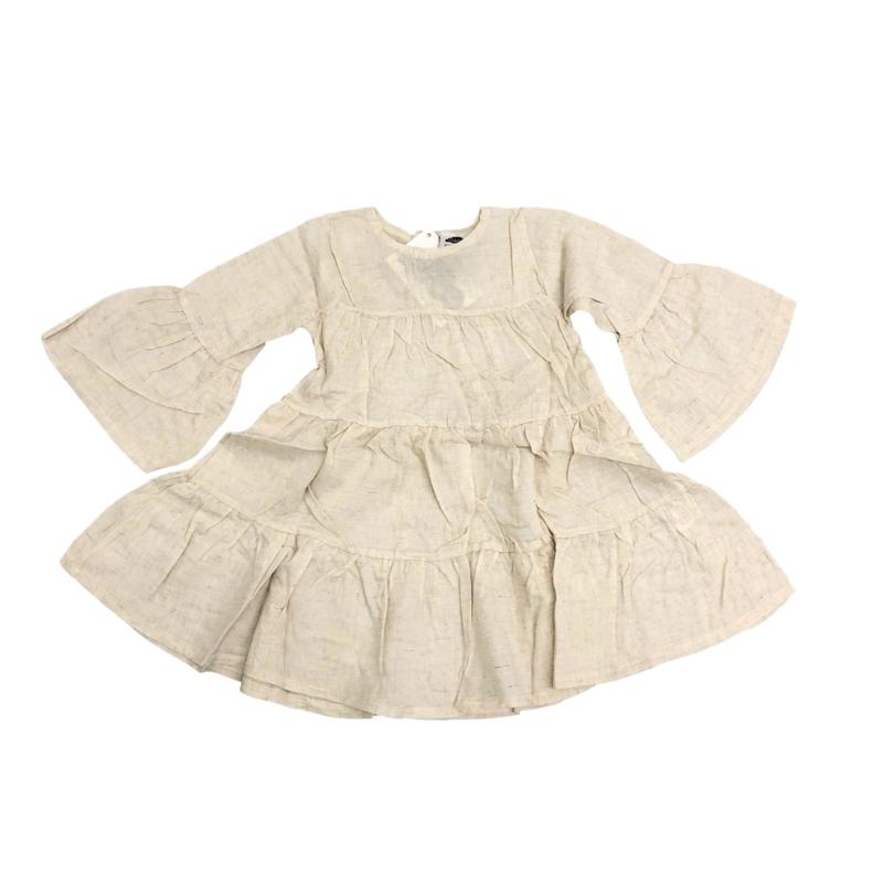TRUMPET LINNEN DRESS