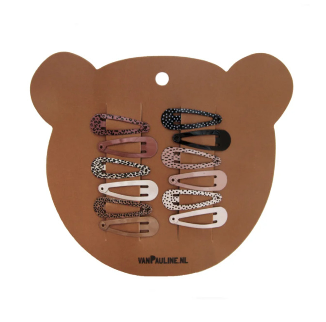 HAIRCLIPS BEAR (3CM)