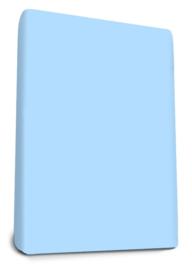 Badstof Hoeslaken Soft Blue