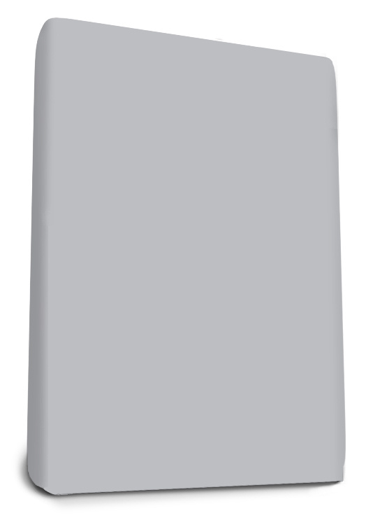 Boxspring Jersey Hoeslaken Zilver