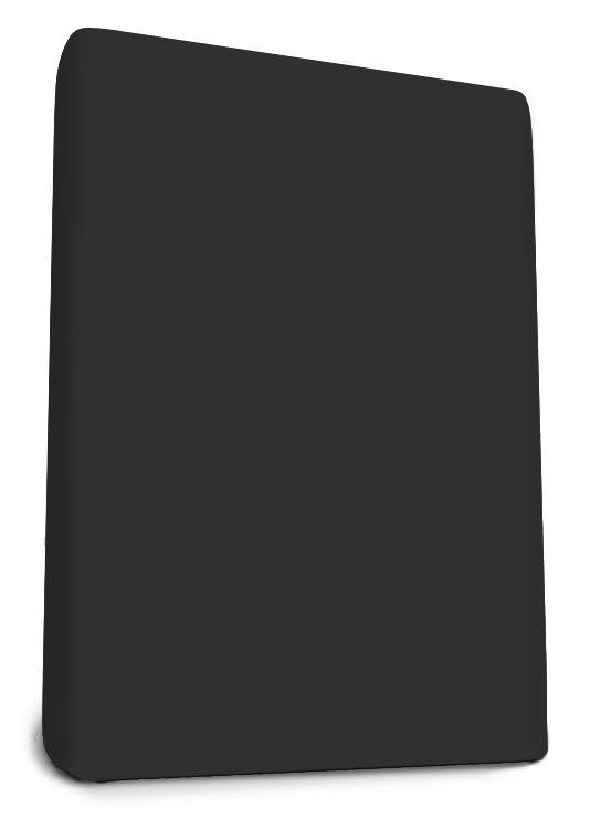 Boxspring Jersey Hoeslaken Zwart