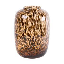 Vase the World - Artic Cheetah Ø25 x H35 cm