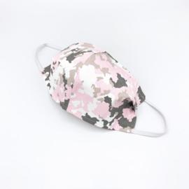 Mondkapje army pink