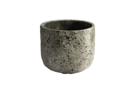 Pot lava steengrijs 18x18x15