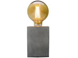 Vintage lamp beton