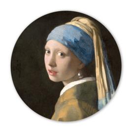 Wooncirkel Meisje met de Parel – Johannes Vermeer  - 30cm