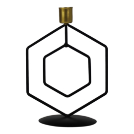 Housevitamin kandelaar hexagon