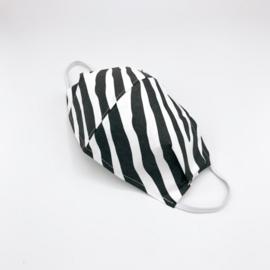 Mondkapje zebra