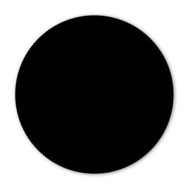 Wooncirkel uni zwart  - 30cm