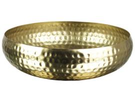 Deco schaal - goud
