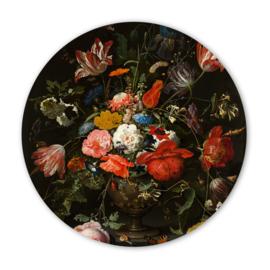 Wooncirkel Stilleven met Bloemen – Abraham Mignon  - 30cm
