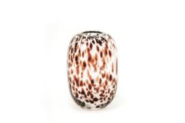 Housevitamin vase white cheetah 18x26 cm