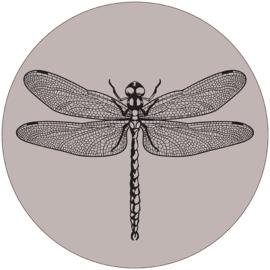 Wooncirkel  Libelle grijs - 30cm