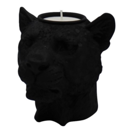 Housevitamin lady Lion candle holder zwart