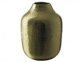 Gusta vaas  goud 13x17,5cm Goud