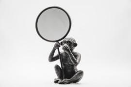 Housevitamin Monkey Mirror Black