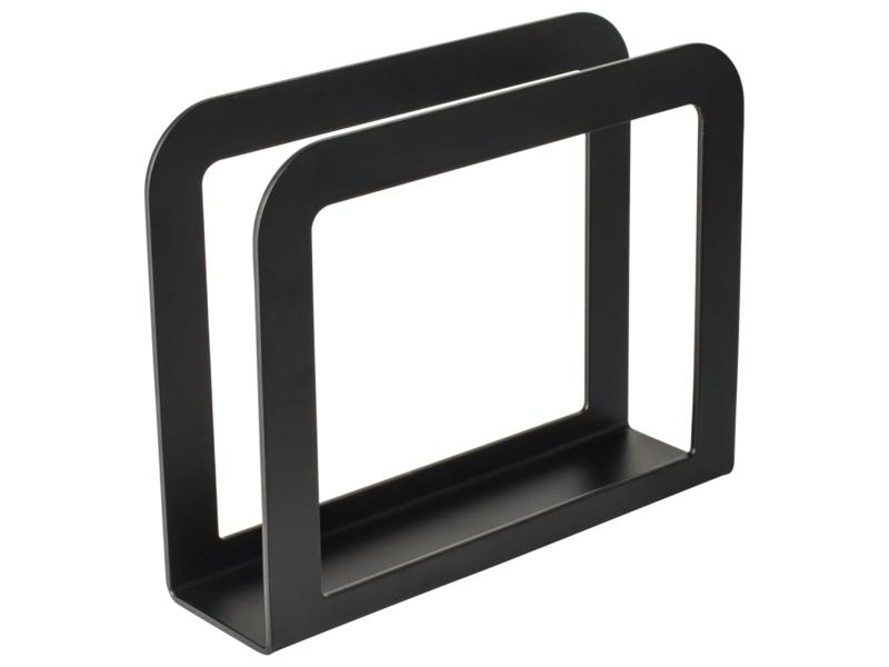 Servettenhouder metaal zwart