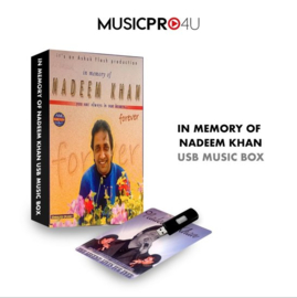 IN MEMORY OF NADEEM KHAN USB MUSIC BOX
