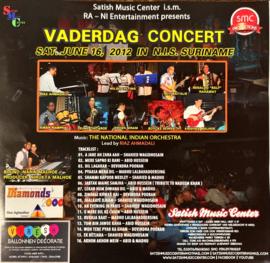 TNIO: VADERDAG CONCERT 2012