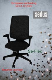 Bureaustoel Se-Flex eindejaarsactie 2020 nog 3 op voorraad