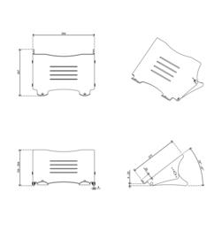 Laptop steun kunststof verstelbaar model 82783