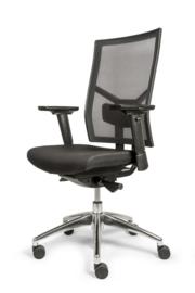 Bureau stoel 1120 edition zwarte netbespanning