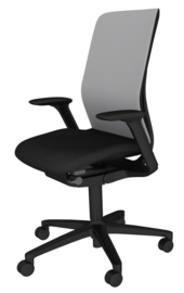 Bureau stoel Wilkhahn 187 AT-ESP  frame zwart gestoffeerd of mesh