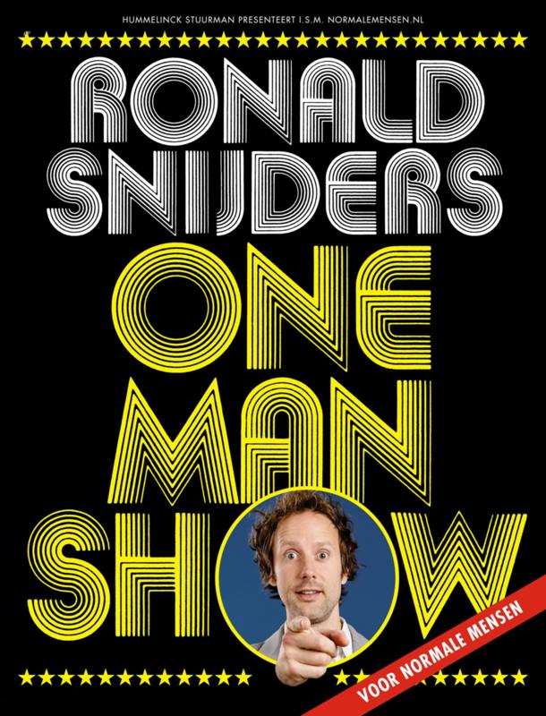 Programmaboekje One Man Show